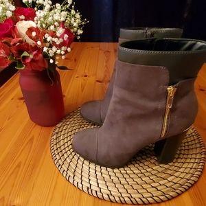 Thick Heel Booties